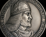 "New medal: ""Grand Duke Gediminas. 690th anniversary of Vilnius"""